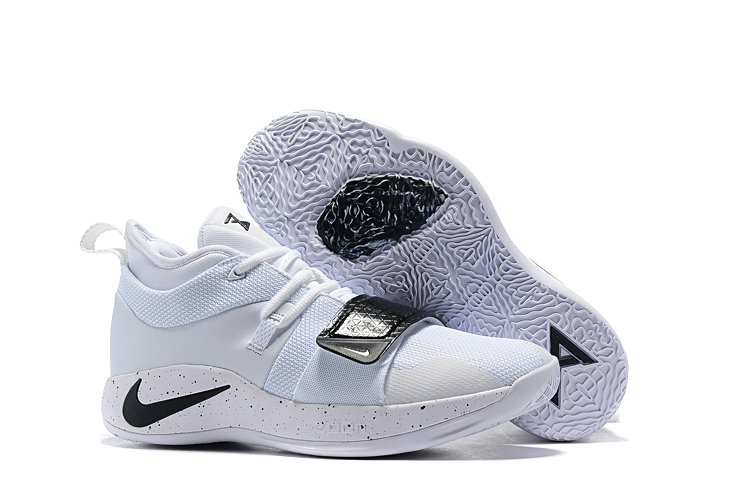 Cheap Nike PG 2.5 EP Basketball All White Black On VaporMaxRunning