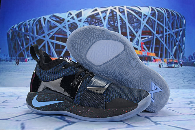 Cheap Nike PG 2.5 EP Basketball Blue Black Grey On VaporMaxRunning