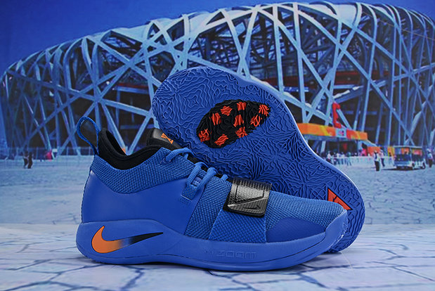 Cheap Nike PG 2.5 EP Basketball Blue Orange Black On VaporMaxRunning