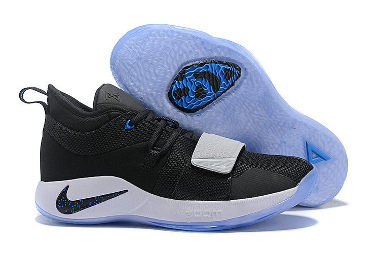 Cheap Nike PG 2.5 EP Basketball White Black Blue On VaporMaxRunning