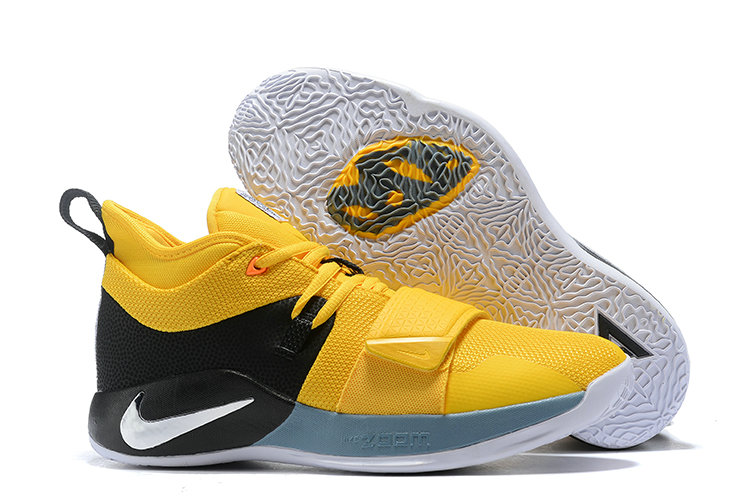 Cheap Nike PG 2.5 EP Basketball Yellow Black Grey White On VaporMaxRunning