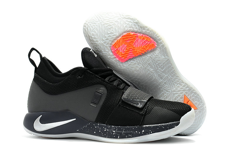 Cheap Nike PG 2.5 Grey Orange White Black On VaporMaxRunning