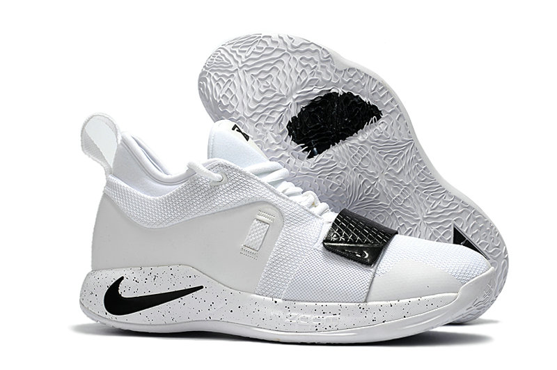 Cheap Nike PG 2.5 White Black On VaporMaxRunning