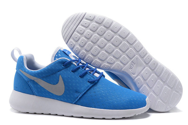 Cheap Nike RosheRun One Mens Blue Grey White On VaporMaxRunning