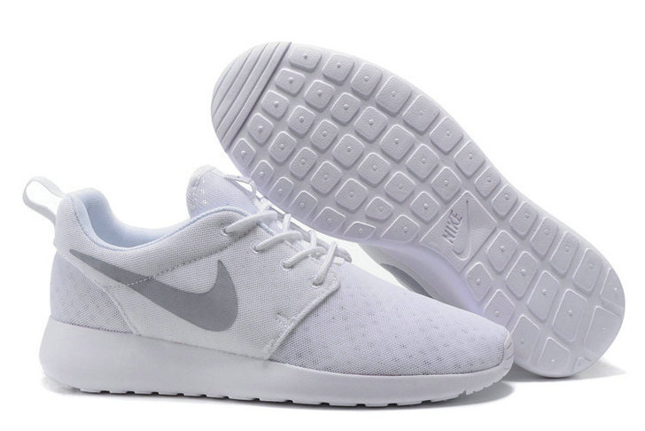 Cheap Nike RosheRun One Mens Grey White On VaporMaxRunning