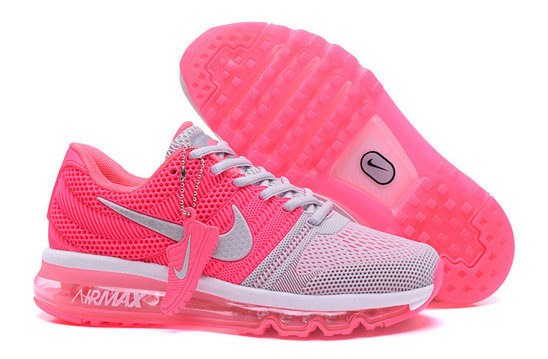 Cheap Nike Sportwear Air Max 2017 Womens Pink Grey On VaporMaxRunning