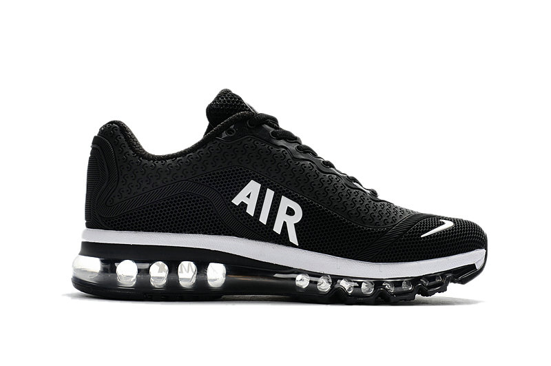 Cheap Nike WMNS Air Max 2017 Black White On VaporMaxRunning