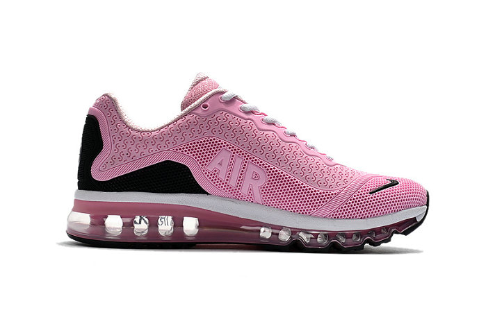 Cheap Nike WMNS Air Max 2017 Pink Black White On VaporMaxRunning