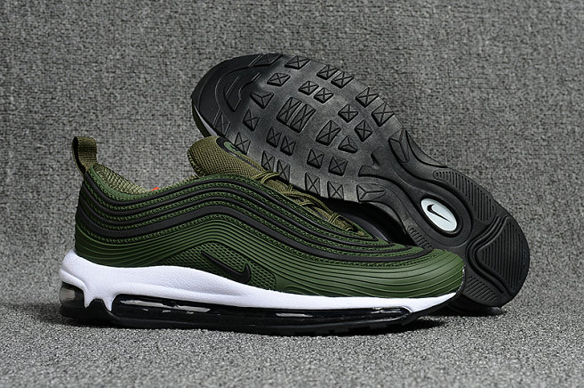 193c585848724 Cheap NikeLab Air Max 97 Army Green Black White Air Max Sale On  VaporMaxRunning