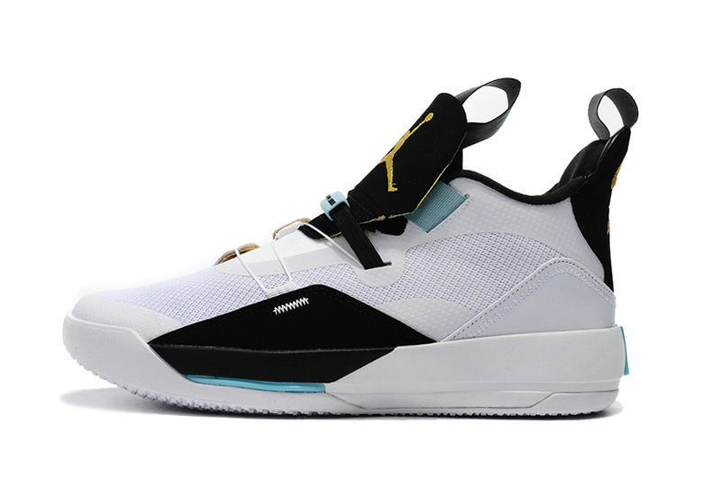 Cheap Nikes Air Jordan 33 White Black Blue On VaporMaxRunning