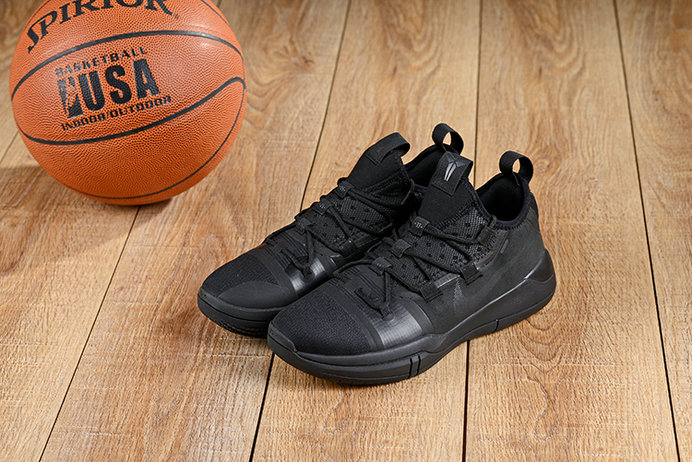 Cheap Nikes Kobe A.D 2019 New Arrival Triple Black Shoes On VaporMaxRunning