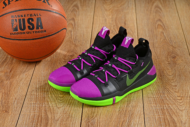 Cheap Nikes Kobe A.D. Purple Black Green On VaporMaxRunning