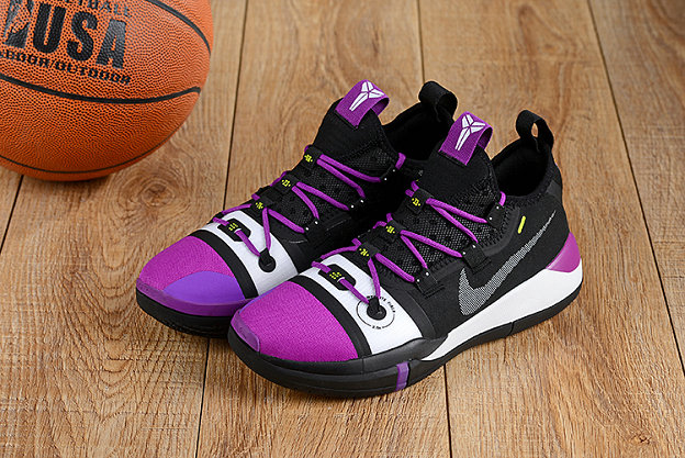 Cheap Nikes Kobe A.D. Purple White Black On VaporMaxRunning