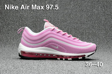 Cheap Sale Nike Air Max 97 Womens Pink White Red On VaporMaxRunning