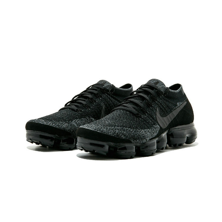 Cheap Womens Nike Air VaporMax Flyknit BHM Black Grey On VaporMaxRunning