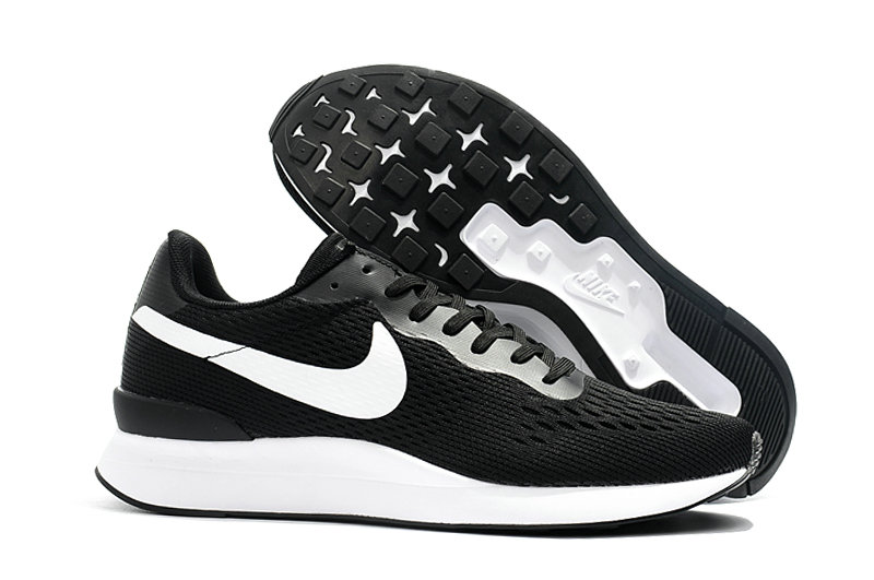 Cheap Womens Nike Internationalist LT 17 Black White On VaporMaxRunning