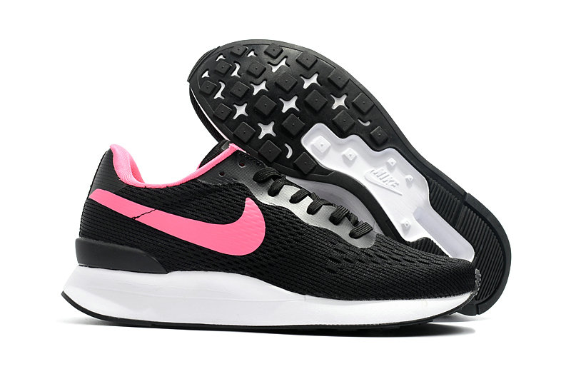 Cheap Womens Nike Internationalist LT 17 Pink Black White On VaporMaxRunning