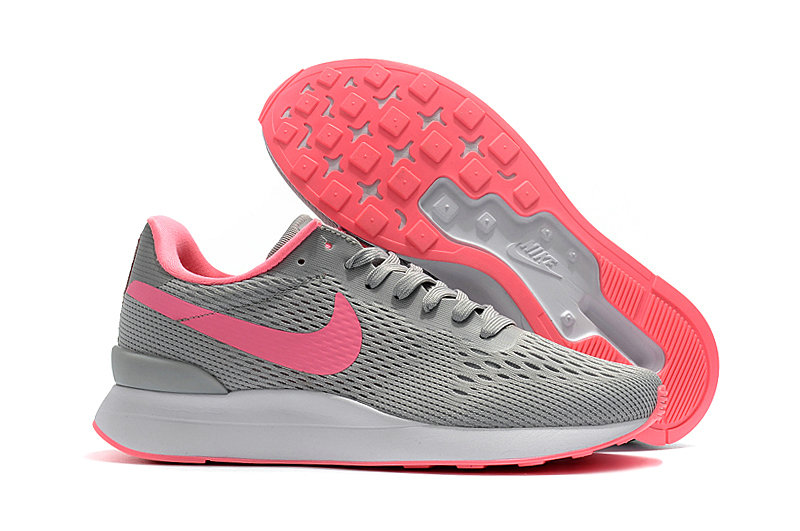 Cheap Womens Nike Internationalist LT 17 Pink Grey On VaporMaxRunning
