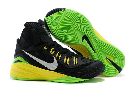 Hyperdunk Black Yellow Green White Mens Cheap On VaporMaxRunning
