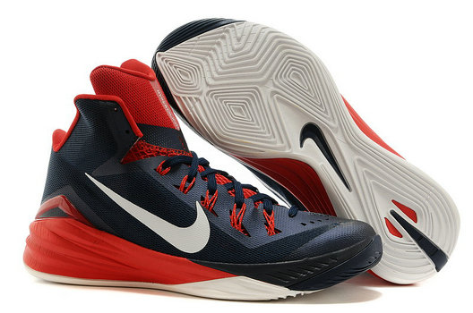 Hyperdunk Navy Blue Red Mens Cheap On VaporMaxRunning