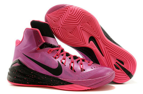 Hyperdunk Purple Pink Black Mens Cheap On VaporMaxRunning