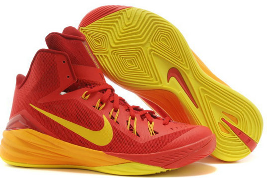 Hyperdunk Yellow e Red Mens Cheap On VaporMaxRunning