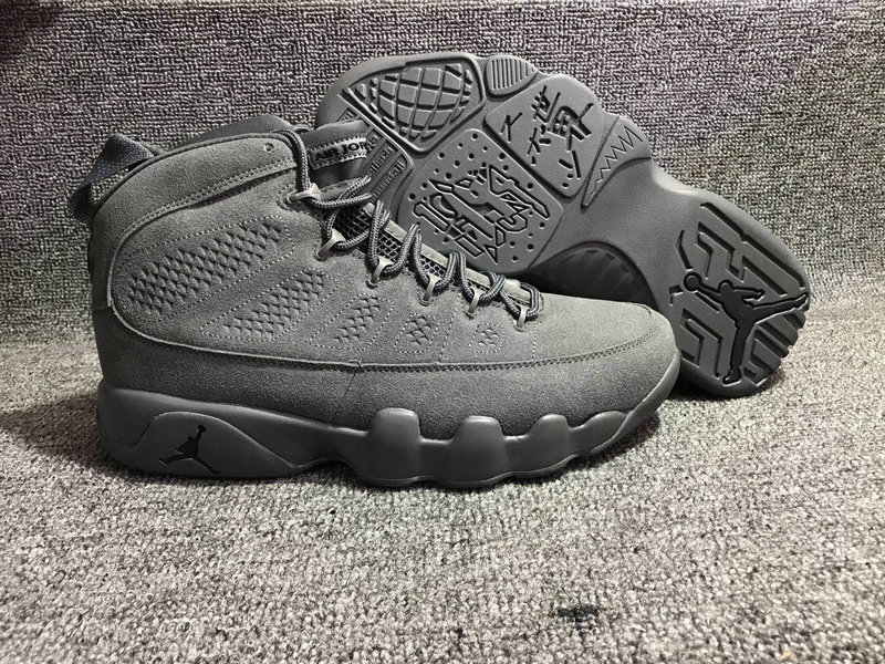 Jordan Brand The Air Jordan 9 Wolf Grey On VaporMaxRunning