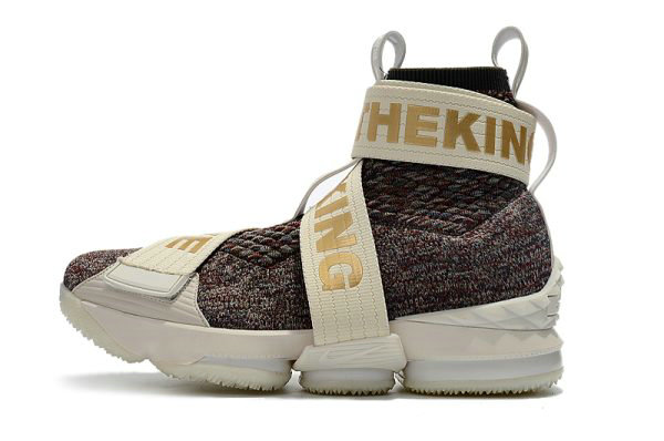 Cheap KITH x Nike LeBron 15 Lifestyle Stained Glass Mens Basketball Shoes On VaporMaxRunning