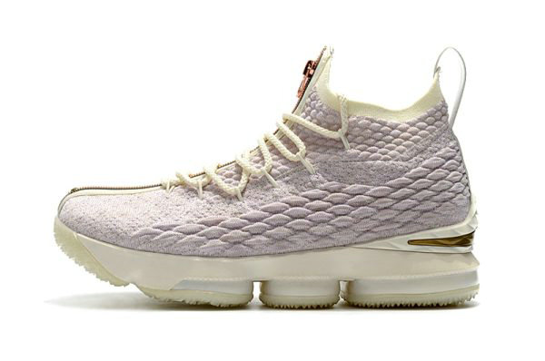 Cheap Mens KITH x Nike LeBron 15 Rose Gold Long Live the King Basketball Shoes On VaporMaxRunning
