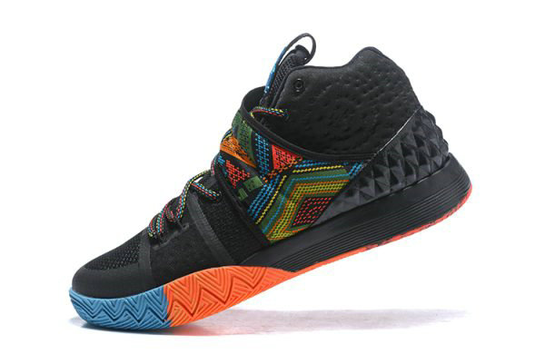 Cheap Mens Nike Kyrie S1 Hybrid BHM Black Multi-Color Free Shipping On VaporMaxRunning