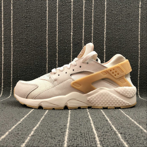 NIKE Air Huarache Run SE 852628-004 PHANTOM GUM YELLOW LIGHT BONE FANTOME OS CLAIR JAUNE COMME