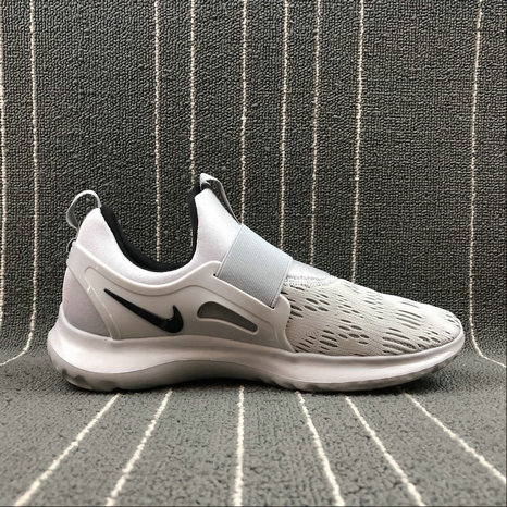 NIKE EPIC REACT FLYKNIT AA7410-010 LIGHT GREY BLACK GRIS CLAIR NOIR On VaporMaxRunning