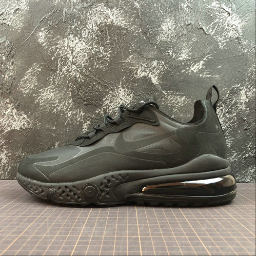 Cheap NIKE REACT AIR MAX AQ9087-002 Black Noir On VaporMaxRunning