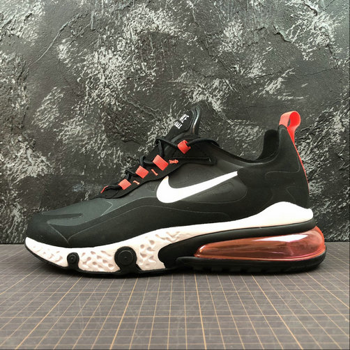 Cheap NIKE REACT AIR MAX AQ9087-016 Black Red Noir L.Rouse On VaporMaxRunning