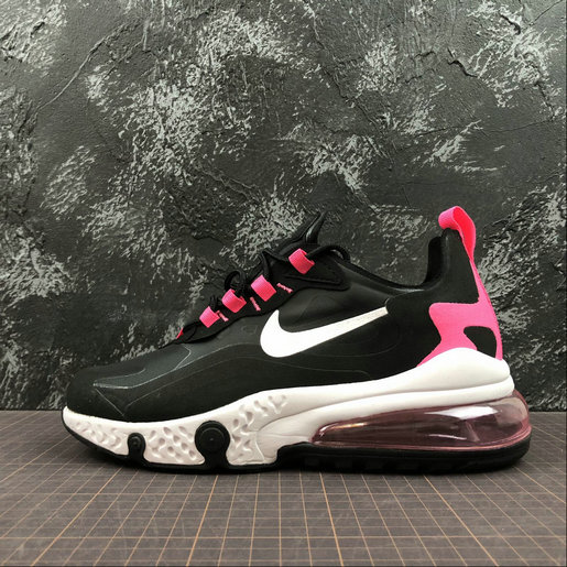 Cheap NIKE REACT AIR MAX AQ9087-017 Black Peach Noir Peach On VaporMaxRunning