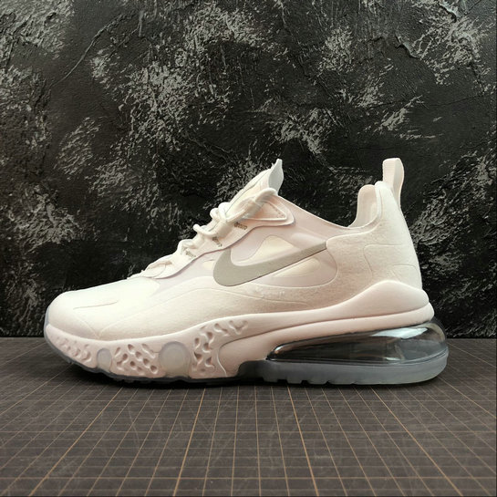 Cheap NIKE REACT AIR MAX AQ9087-100 White Silver Blanc Argent On VaporMaxRunning
