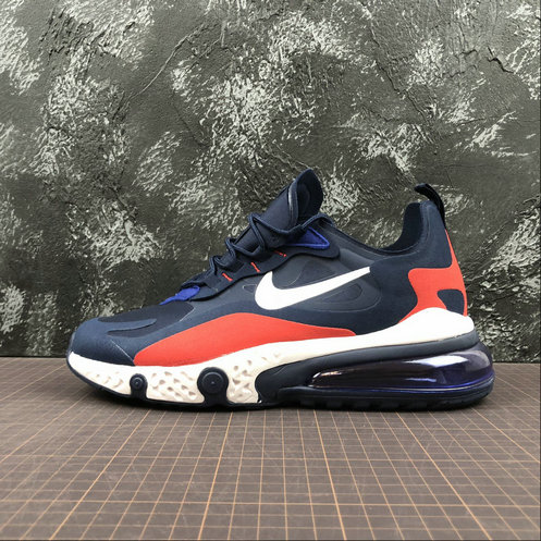 Cheap NIKE REACT AIR MAX AQ9087-416 Navy Red Navy Rouge On VaporMaxRunning