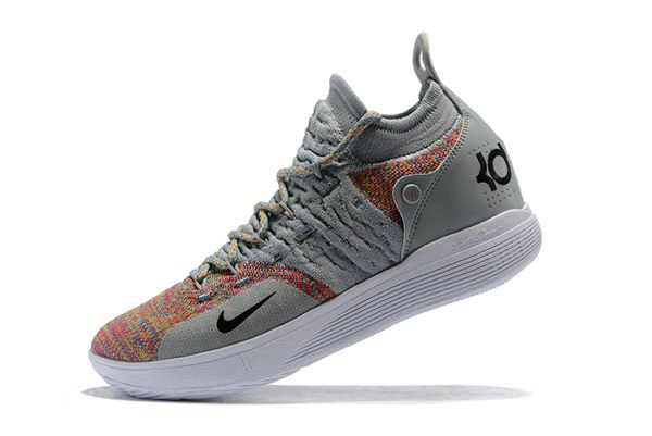 Cheap New Nike KD 11 Cool Grey Multi-Color Mens Basketball Shoes On VaporMaxRunning