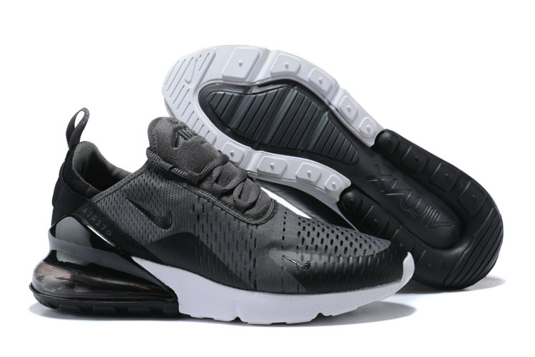 Nike Air 270 Cheap Nike Air Max 270 Grey Black White On VaporMaxRunning