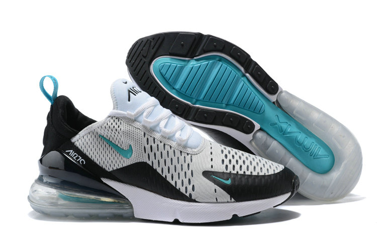 best website 5a697 3534b Nike Air 270 Cheap Nike Air Max 270 White Black Jade On ...