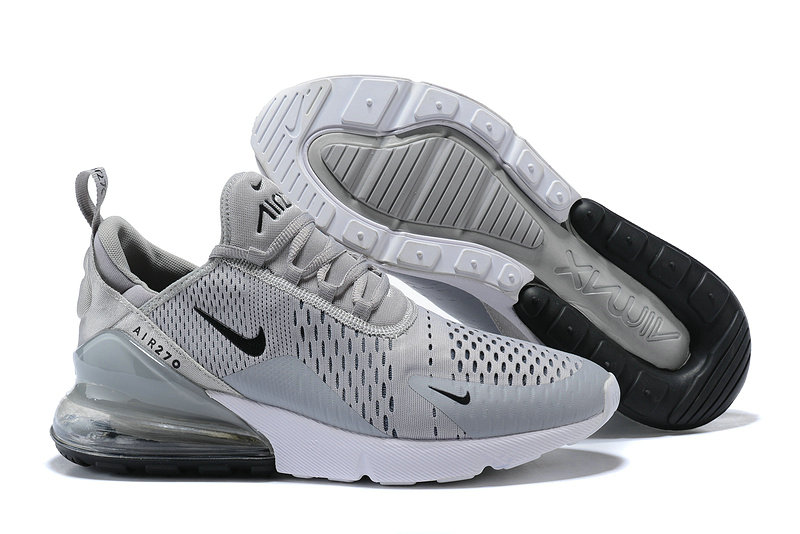 hot sale online 5ba4c bd432 Nike Air 270 Cheap Nike Air Max 270 Wolf Grey Black On ...