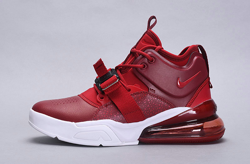 Nike Air Force 270 Deep Red White