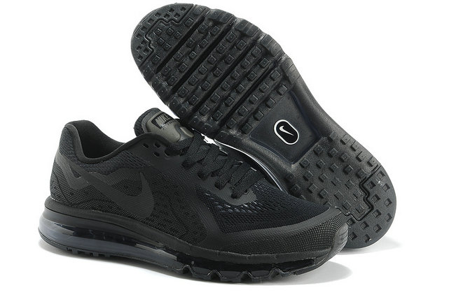Nike Air Max 2014 Mens Running Shoe All Black On VaporMaxRunning