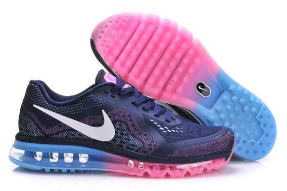 Nike Air Max 2014 Mens Running Shoe Dark Blue Pink Jade On VaporMaxRunning