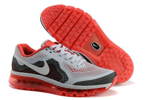 Nike Air Max 2014 Mens Running Shoe Gray Red On VaporMaxRunning