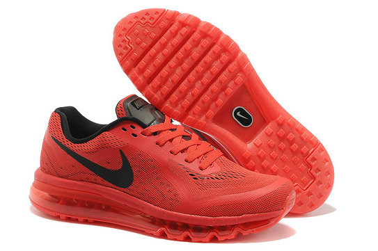 Nike Air Max 2014 Mens Running Shoe Red Black On VaporMaxRunning