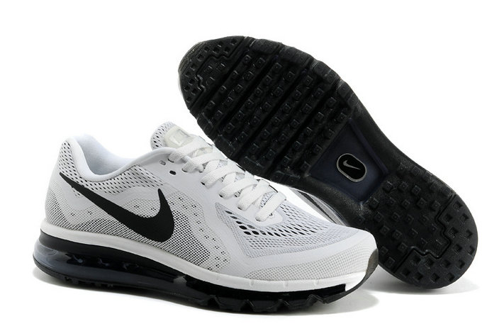 Nike Air Max 2014 Mens Running Shoe White Black On VaporMaxRunning