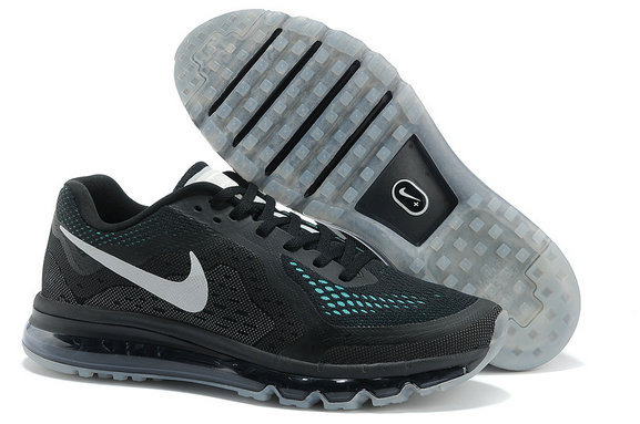 Nike Air Max 2014 Womens Running Shoe Black Gray On VaporMaxRunning