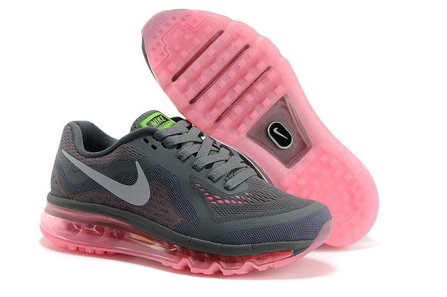 Nike Air Max 2014 Womens Running Shoe Gray Pink On VaporMaxRunning