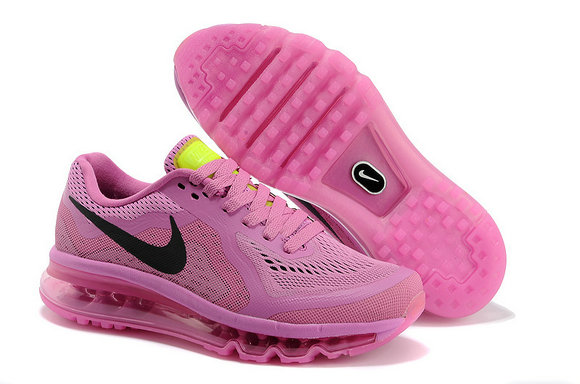 Nike Air Max 2014 Womens Running Shoe Pink Black On VaporMaxRunning